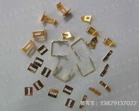 Metal stamping piece processing